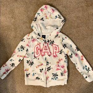Gap girls hoodie 4t